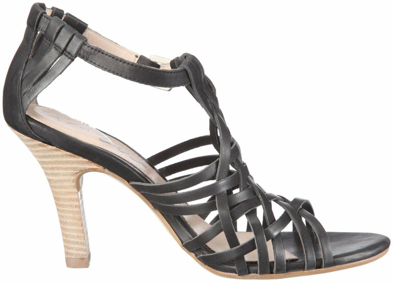 Cinque scarpe Sandali Pelle Nera Tasha 105411 tg. 39
