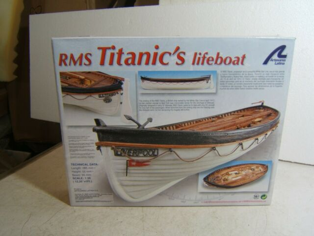 ARTESANIA LATINA RMS Titanic/'s Lifeboat 19016 Model Ship Kit 1:35
