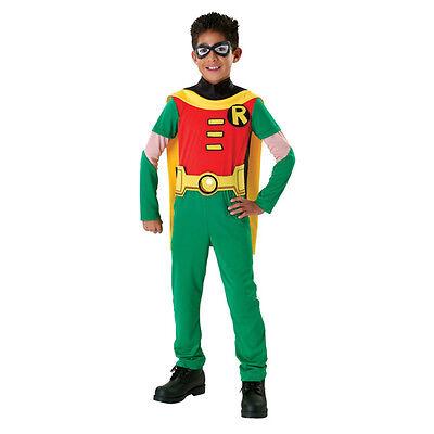 Childrens Teen Titan Robin Batman Superhero Fancy Dress Party Halloween Costume