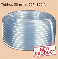 Clear Plastic Tubing 100 Feet Roll 12 Inside Dia X 58 Outside Dia Flexible