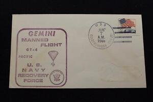 Naval-Espacio-Cubierta-1965-Gemini-GT-4-Recuperacion-Enviar-US-Goldsborough