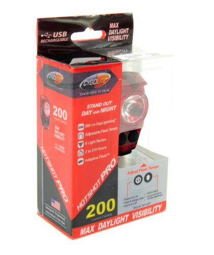 Cygolite Hotshot Pro 200 Rechargeable Bicyclette Arrière Queue Lumière
