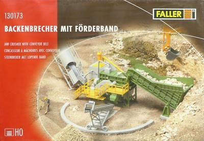 H0 Backenbrecher Mit Förderband Neu Faller 130173-1//87