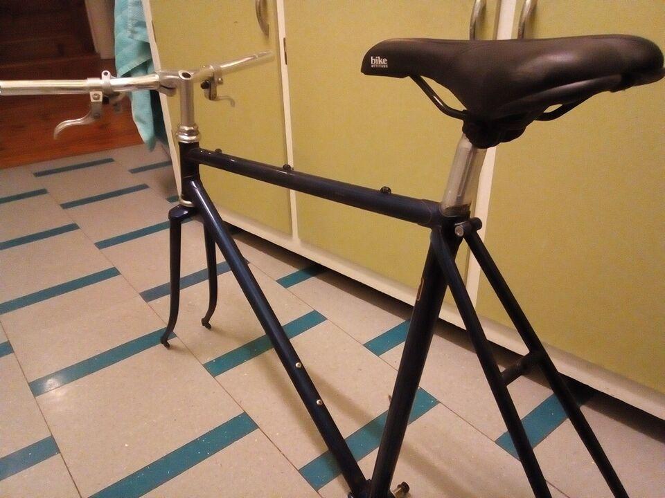Herrecykel, andet mærke sportscykel stel, 54 cm stel