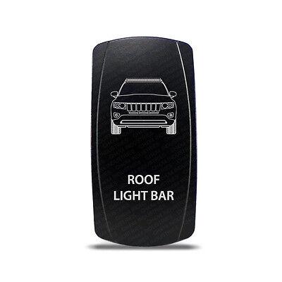 CH4X4 Rocker Switch Jeep Grand Cherokee WK1 Roof Light Bar Symbol - Blue  LED