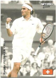 Roger Federer 2003 NetPro Elite Event Edition Starter #S2 Rookie Card RC ATP