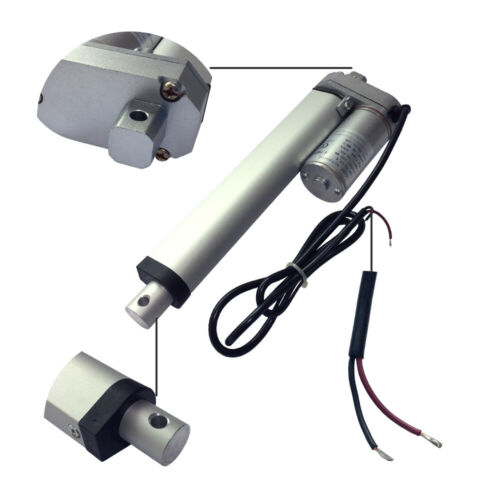 DC Electric Motor 12V Stroke 100mm Speed 10//16mm//s 750N//600N Linear Actuator