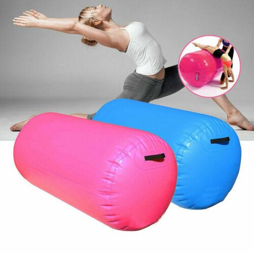 Yoga Gymnastic Zylinder 100cm aufblasbare Luft Rollen Aufblasbare Air Roll
