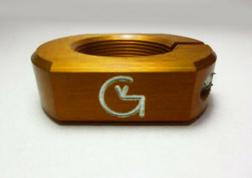 HEADSET LOCK Threaded CNC Aluminum Made in USA GOLD SE GT CW Von Giese VG BMX