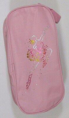 Para Niños Niñas Adultos Danza Ballet Tap Moderno Rosa Bolsa De Zapatos Bailarina Lentejuelas