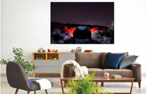darkdirtroaddrivingHOME WALL DECOR Picture Canvas choose your size