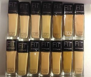 MAYBELLINE-FIT-ME-LIQUID-FOUNDATION-NO-250-SUN-BEIGE-NEW-SEALED-30ML-SIZE
