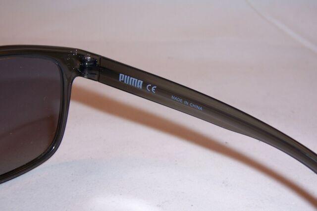 e496f0ac1eb0 PUMA Sportstyle PU 0073s Sunglasses 001 Grey 100 Authentic for sale online