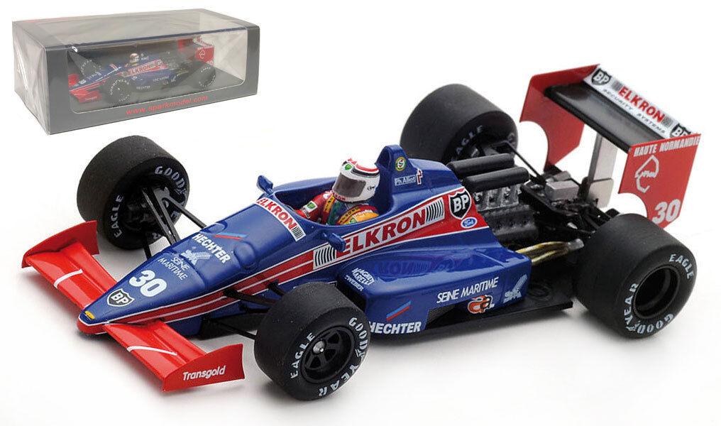 Spark S4819 Larrousse Lola LC87 Monaco 1987-Philippe Alliot escala 1 43