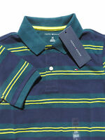 Tommy Hilfiger Boys Polo Shirts Large Small 12 14 6 7 Short Sleeve Cotton