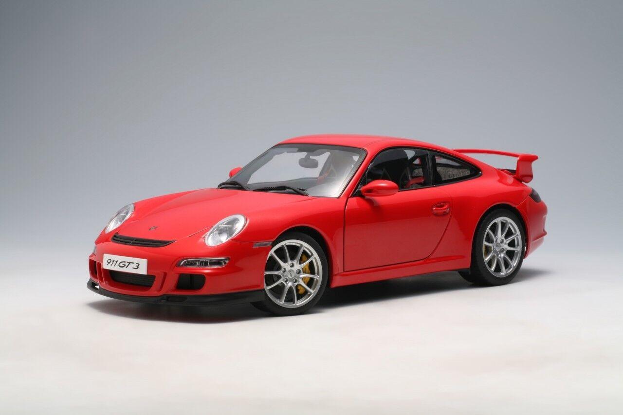Porsche CARRERA 911 GT3 rot (997) RARE DISCONTINUED 1 18 AUTOart  NEW IN BOX