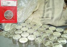 One Canadian Silver Dollar 1966 from mint bag-- .800 fine *.6 oz of PURE Silver*