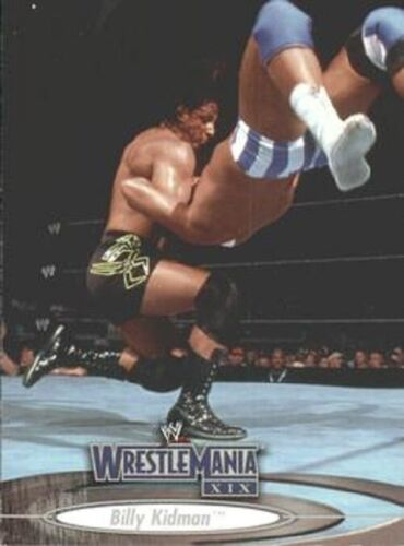 WWE WRESTLE MANIA XIX Base//Base Cartes 001 To 090 par Fleer 2003