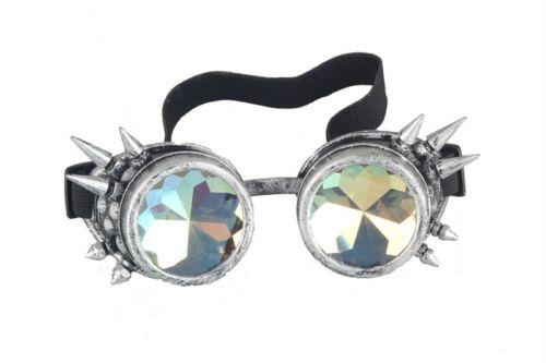 US POPULAR Vintage Steampunk Goggles Welding Glasses Gothic Retro Goggle Glasses