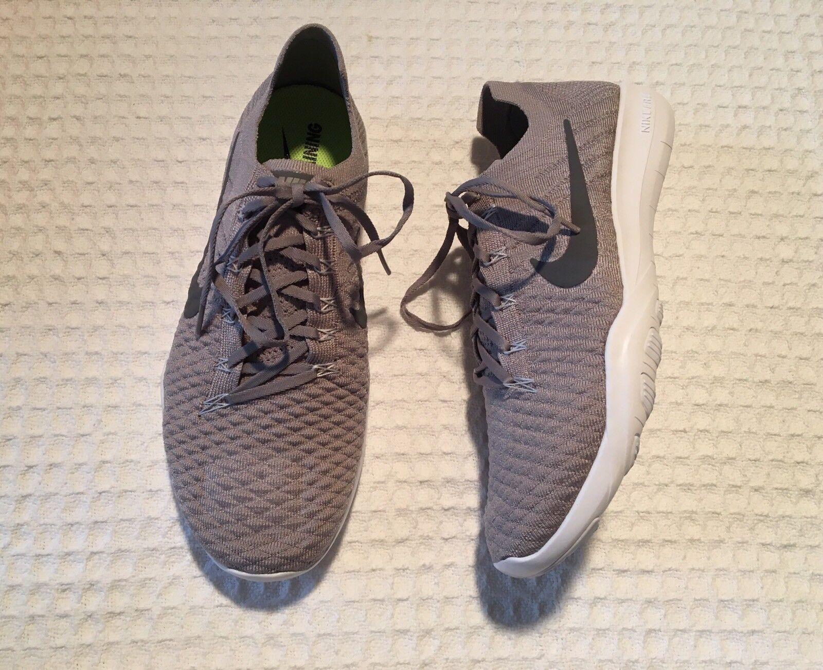 NIKE Free TR Flystick 2 Training skor skor  120 120 120 Atmosfär grå   vit 10  grossist billig och hög kvalitet