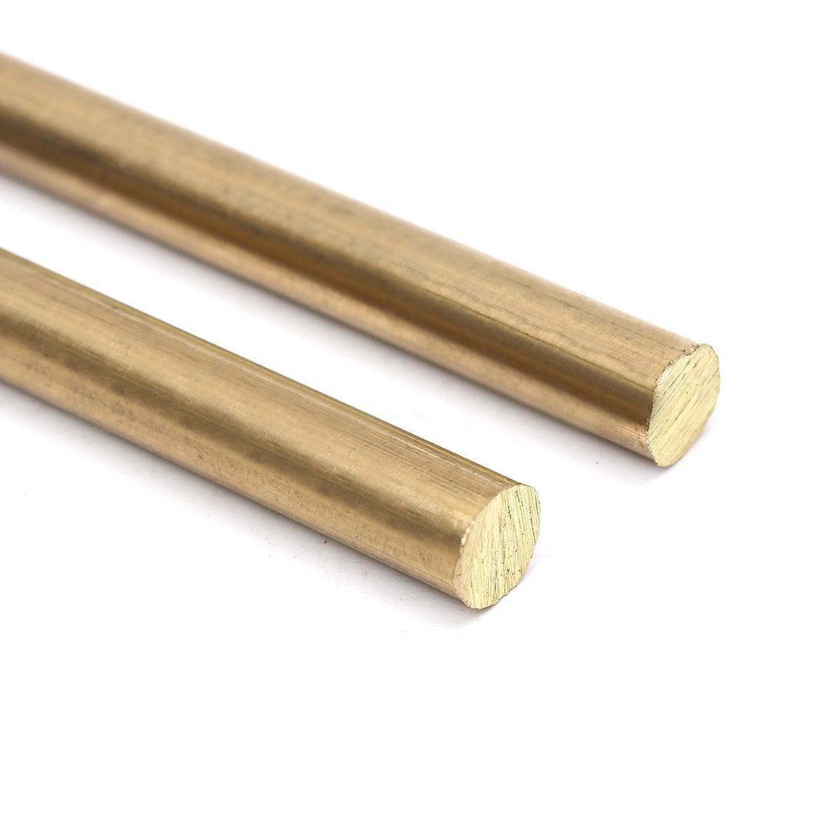 4 Pcs 5mm Brass Rod Brass Round Rod Brass Round Stock Brass Solid Round Rod L...