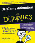 3D Game Animation For Dummies by Kelly Murdock (Paperback, 2005)