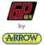 FULL-SYSTEM-EXHAUST-GP-GUN-by-ARROW-STEEL-BLACK-BMW-S-1000-RR-2017-17-2018-18 thumbnail 3