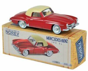 MB Mercedes Benz 190 SL - 1956 - red / beige - Norev 1:43