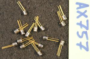 Lot de 15 x  transistor 2N4093  THOMSON  ( AX757 )