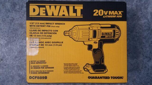 Dewalt Dcf889b Cordless Impact Wrench