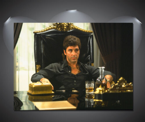 Scarface Al Pacino Vintage Movie Poster A1 A4 sizes A0 A2 A3