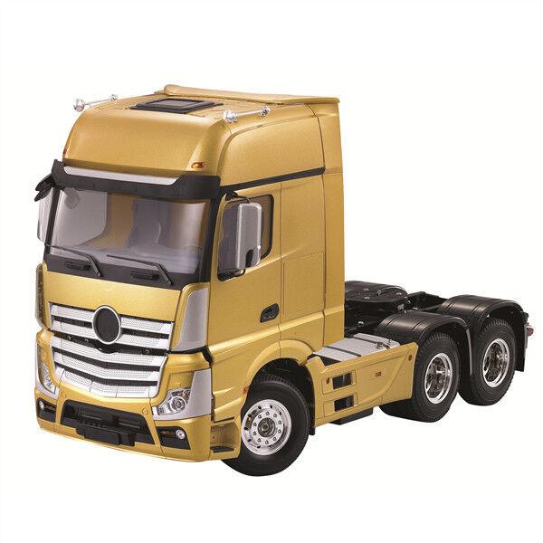 Hercules Hobby 1 14 RC Prime Mover Camión Tractor Actross por Mercedes Benz