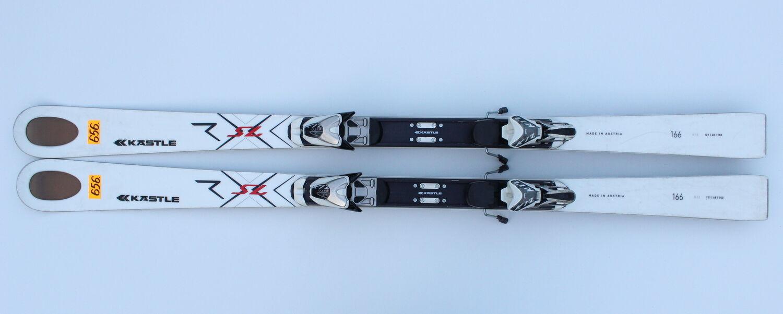KASTLE RX SL CROSS 166 CM + BINDINGS  MARKER K 12 CTI SKI SKIS  N656  brand on sale clearance