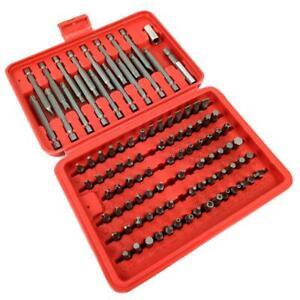 98pcs-Torx-Star-Spline-Hex-Cross-Slotted-Socket-Bit-Set-Tool-Kit-Repair-Set-NEW