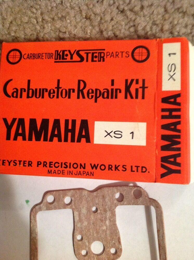 2x Vergaser Reparatursatz Carburetor Repair Kit YAMAHA XS1 1970-1971 XS650