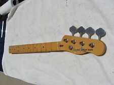 Fender Squier Bullet 1 Maple Bass Neck Loaded With Tuners Made In Japan