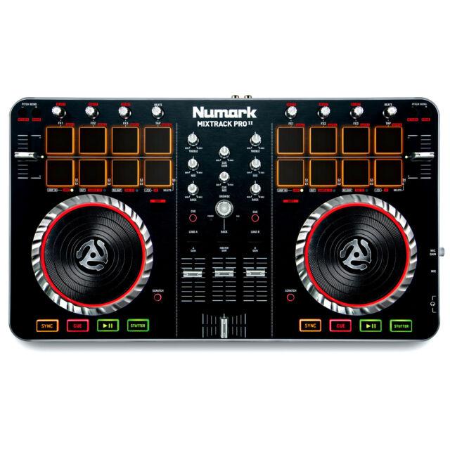 Numark Mixtrack Pro II 2 DJ Controller W/ Built-In Audio I/O & Serato Software