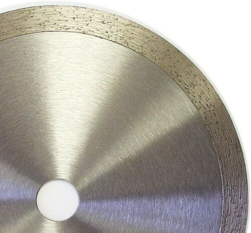 "6"" Continuous Rim Wet Dry Cutting Diamond Tile Blade"