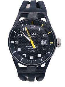 Orologio Locman MonteCristo Carbon LimitedEdition 544kY/1390 Scontatissimo Nuovo