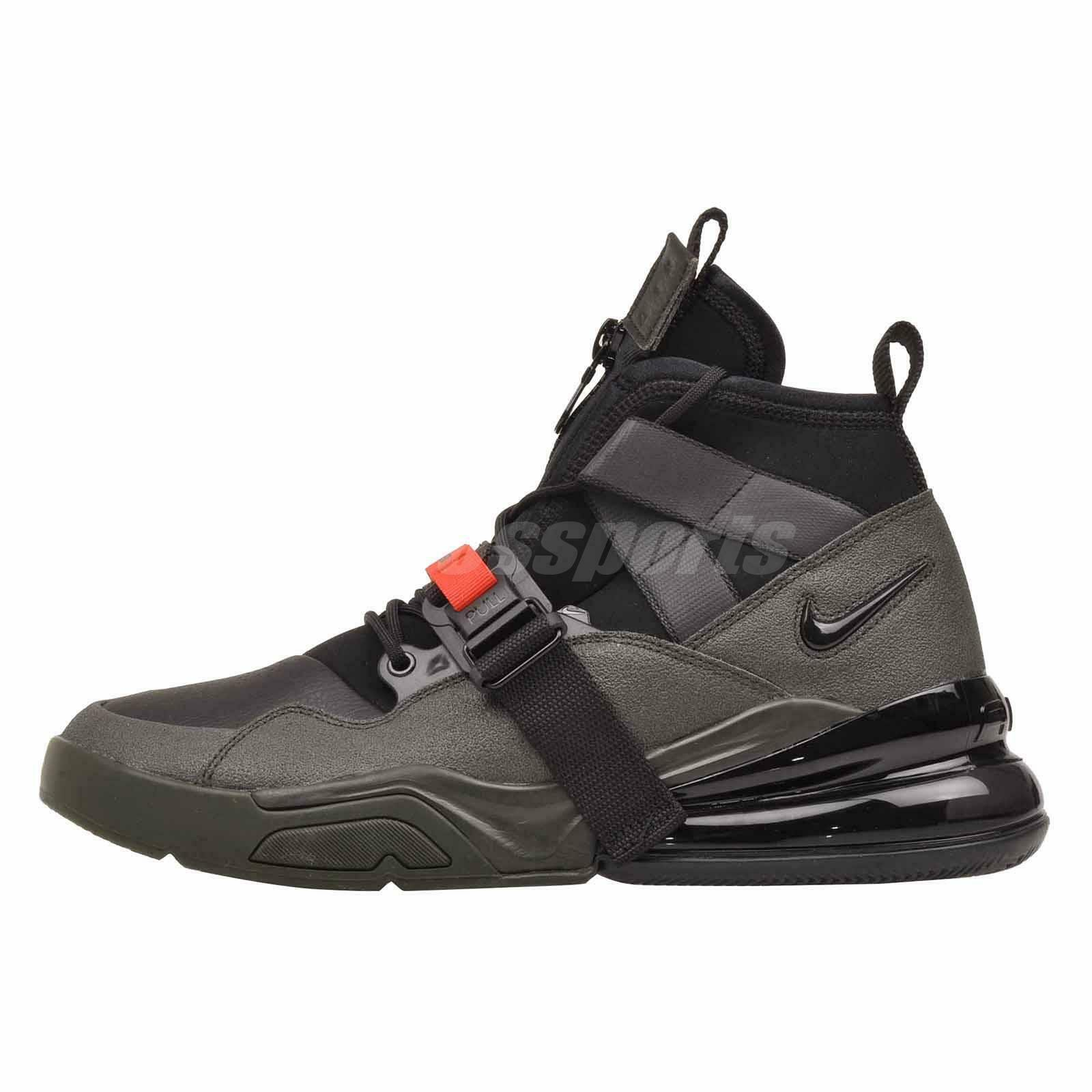 1b54b92a7 Nike Air Force 270 utilitaire Outdoors Homme Chaussures Sequoia ...