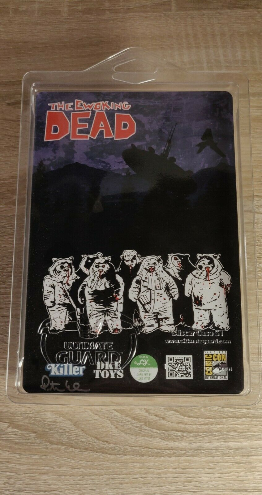 SIGNED SDCC SDCC SDCC 2016 Ewoking Dead Star Wars Action Figure Killer Bootlegs DKE TOYS 9cfc58