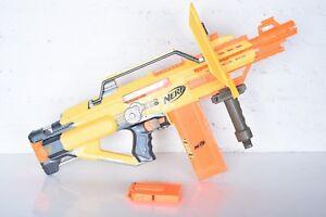 7x Lot Nerf Stampede Ecs N Strike Automatic Blaster Gun W