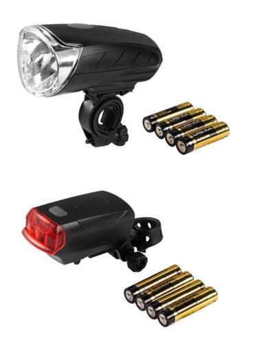 CRIVIT® LED Fahrradleuchten Set ORSAM LUX Fahrrad Leuchte Lampe Licht Rad B
