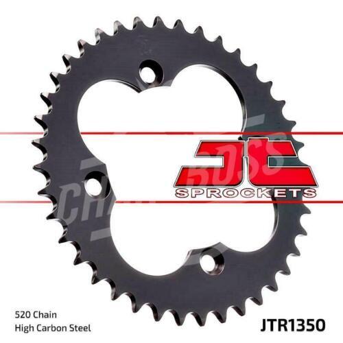 JT Sprockets 520 Rear Sprocket Steel 36 Teeth Black JTR1350.36