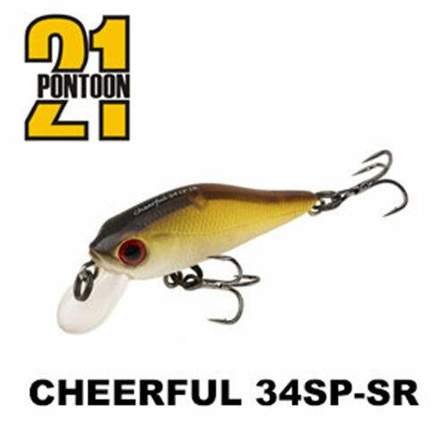 Pontoon 21 Cheerful 34SP-SR