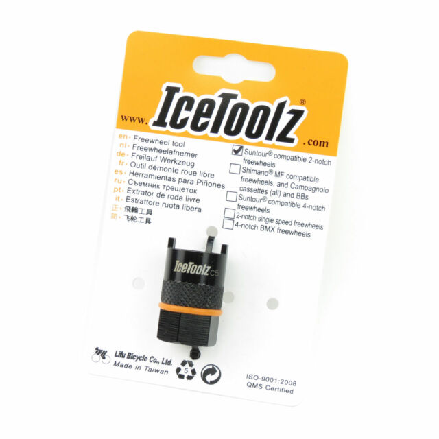 IceToolz Bicycle Cycle Bike Shimano Cassette Tool With 12 MM Guide Pin