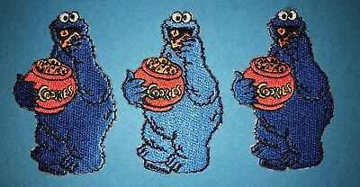3 Lot Elmo Sesame Street Iron On Hat Jacket Hoodie Backpack Patches Crests A