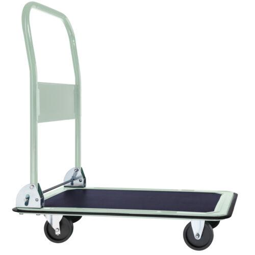 Carro de plataforma carro de transporte carro de mano plegable carretilla de saco carro de plegado