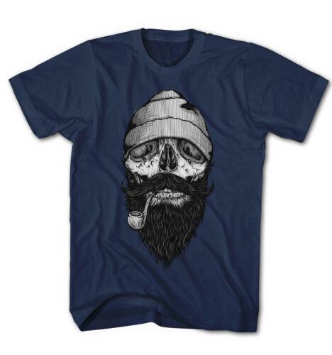Herren T-Shirt Sailor Bone Crew Old School Seaman Tattoo Skull Neu S-5XL BS12915