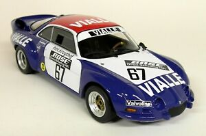 Otto-1-18-Scale-Renault-Alpine-A110-Gr-5-Rallye-Cross-Resin-Model-Car